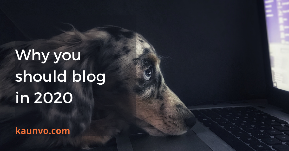Blogs are an extremely useful marketing tool. Have you tried it yet?