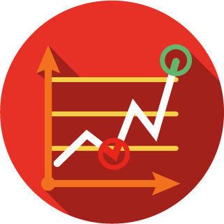 content marketing - growth - icon