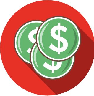 content marketing - profits - icon